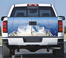 Truck Tailgate Wrap Decal  Boat Trolling 3m Cast  Vinyl 10Yr