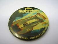 Vintage Pin Button: Miss Budweiser World's Fastest Thunderboat U-1