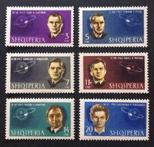 Albanien 1963 Sowjetische Kosmonauten Mi-Nr. 757/62 postfrisch gezähnt (A)