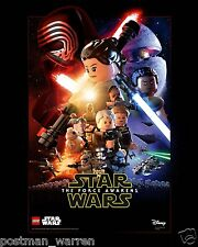 LEGO - Exclusive Collectible Poster - Star Wars: The Force Awakens - Episode VII