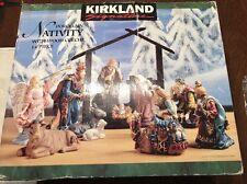 Kirkland CHRISTMAS NATIVITY SCENE Costco 14 Piece Porcelain Crèche Missing piece