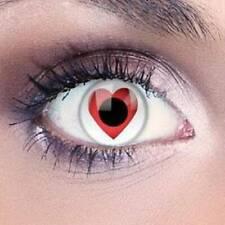 Fancy Zero Power Beautiful Fashionable Eye Colored lens White color