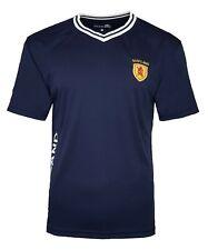 Scotland Retro Football Shirt Mens Small Poly Training T Shirt 70s 80s