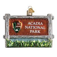 """Acadia National Park"" (36190)X Old World Christmas Glass Ornament w/OWC Bx"