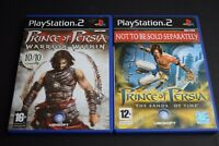 Prince Of Persia Sands Of Time & Warrior Within Bundle PlayStation Two PS2 Good