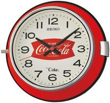 Seiko x Coca-Cola Coke Quartz Wall Clock QXA923R