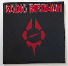 RADIO BIRDMAN Hungry Cannibals/Rock Bottom 45 RPM Single Red Vinyl Steel Cage