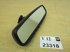 2008-2013 Infiniti G37 interior glass rear view mirror garage door opener OEM