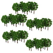 MagiDeal 100pcs Modèle d'aménagement d'arbres Train Street Diorama Scenery