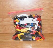 Mixed Lot - 1 1/2 Pound Bag of Multi Colored Genuine K'nex Bricks Blocks Plates