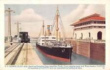 SS Honolulan American Hawaiian Line Steamship Antique Postcard K79740