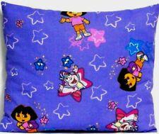 Toddler Pillow for Dora the explorer on Purple 100%Cotton D12 New Handmade