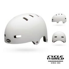 Bell Sports Division Skate / BMX Helmet White, Unisex, Size Large (59 - 61.5 cm)