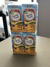 Crystal Light Decaf Lemon Iced Tea Drink Mix 4 Boxes, 40 Packets