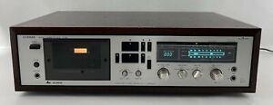 Vintage LUXMAN K-118 Dolby Stereo Cassette Deck Recorder/Player - Japan
