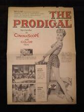 The Prodigal 1955 Herald - Lana Turner