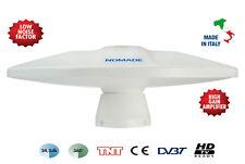 Supergain TV DVB-T / TNT HDTV kompatible Antenne mit Verstärker 12V Neu/OVP
