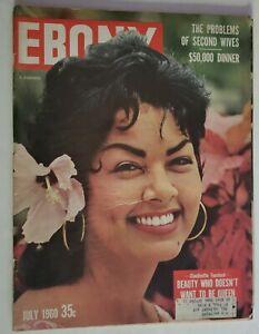 1960 Ebony Magazine Claudinette Fouchard SF Giants Willie Mays Woody Strode