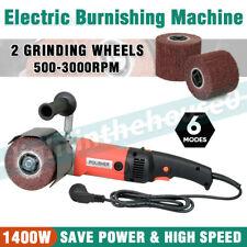 Electric Burnishing Polishing Machine Burnisher Sander Polisher 2 Grinding Wheel