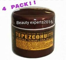 4 PACK! TEPEZCOHUITE CREAM-COLLAGEN & VITAMIN ECREMA DE TEPEZCO DEL INDIO PAPAGO