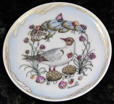 Hutschenreuther Glass Coasters of the Month March Black-headed Gull by Ole