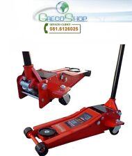 Cric/Martinetto/Sollevatore idraulico a carrello 3T/3000Kg profilo extrabasso-B
