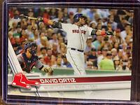 2017 Topps Baseball Card David Ortiz #350 Boston Red Sox MLB HOF BIG PAPI MINT