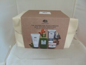 ORIGINS SKINCARE SET -SOOTHING TREATMENT LOTION+ENERGY BOOSTING GEL+FACE WASH...
