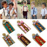 Boys Kid Wedding Matching Braces Suspenders and Luxury Bow Tie Set