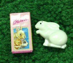 VTG Barbie EASTER rabbit pet food BUNNY dollhouse dreamhouse toy figure diorama