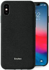 Evutec AERGO  Case Ballistic Nylon Case for iPhone X/Xs, Black & Free Vent Mount