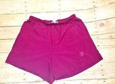PRINCE SPORTSWEAR Work out RASPBERRY PINK Womans Adjustable Waist Shorts size XL