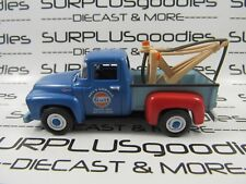 Greenlight 1:64 LOOSE Collectible GULF Mel's 1956 FORD F-100 Tow Truck Wrecker