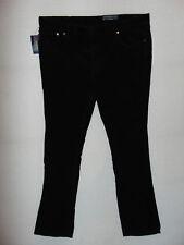 New Ralph Lauren Stretch Slim Sullivan Pant  W38 L34  Mens Black Cord Jeans