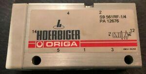 Hoerbiger origa 5/2 Wegeventil S9 561RF-1/4 PA12676