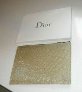 NEW Christian Dior J`Adore  Gold Patterned Pouch Purse Make Up Bag  BNIB
