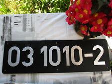 Lokschild Typenschild der 031010-2