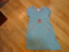 Girl Gymboree Spring Rainbow Blue Stripe Dress 6