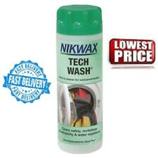 NIKWAX Tech Wash Non-Detergent Cleaner Waterproof Clothing & Equipment 300 ML