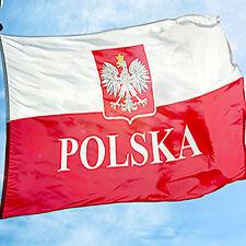UEFA-WM-2018 POLSKA Polen Polnische Patriot Flagge Fahne Polens-Fussball150x90cm