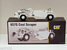 "Caterpillar 657G COAL Scraper - ""WHITE"" - 1/87 - CCM - Brass - MIB"