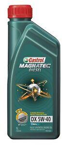 Castrol MAGNATEC 5W-40 Diesel DX Engine Oil 1L 3383628 fits Tata Xenon 2.2 Di...