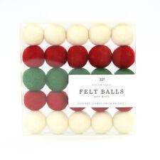 Christmas Felt Ball Multi Pack