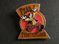Haunted Lands 2015 - Fear in Frontierland - Goofy LE Disney Pin 111878