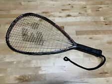 """E-Force Uproar 22"""" Long String Racquetball Racquet Titanium #R632 Dual Cylinder"""