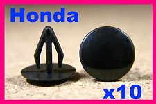 10 HONDA door card fascia, dash board, roof cover,  panels fastener pin clips