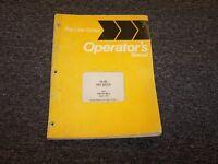 International Dresser IH TD8E Pay Dozer Owner Operator Maintenance Manual Guide