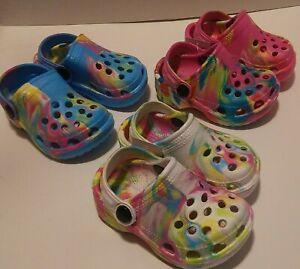 Childrens Girls Boys Summer Pool Garden Water Toddler Slingback Shoe Sandal Clog