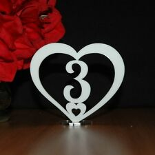 Table Numbers, wedding,Engagement Party, celebration, Freestanding, Acrylic