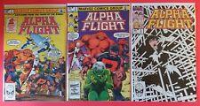 Alpha Flight #1-12 - lot of 12 - VF/NM - KEY ISSUES